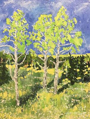 Painting - Birch by Rodger Ellingson