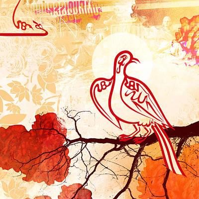 Bird Of Glory 1 Art Print by Misha Maynerick