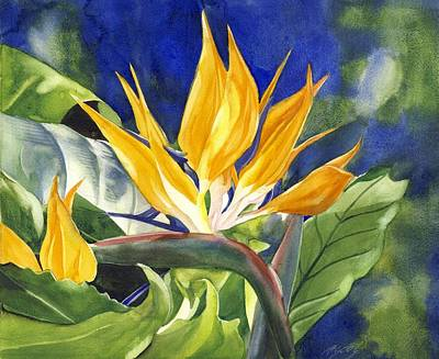 Painting - Bird Of Paradise  by Alfred Ng