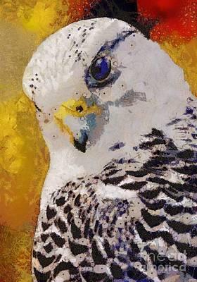 Painting - Bird's Eye View by Catherine Lott