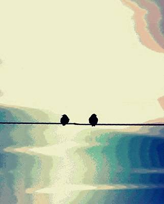 Photograph - Birds On A Wire by Buddy Scott