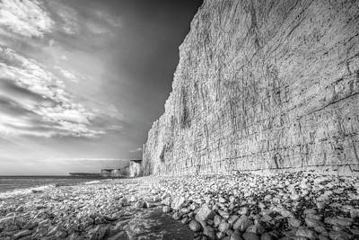 Photograph - Birling Gap And Seven Sisters by David Pyatt