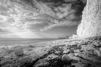 Photograph - Birling Gap Seven Sisters by David Pyatt