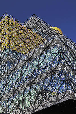 Photograph - Birmingham Library, by Tony Murtagh