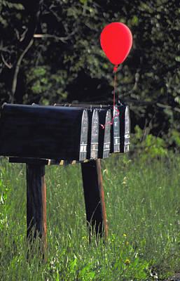 Rusty Trucks - Birthday balloon by Carl Purcell