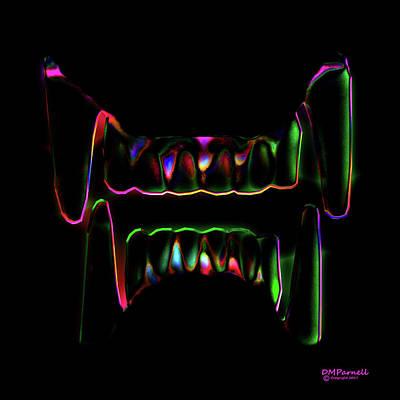 Nosferatu Digital Art - Bite Me by Diane Parnell