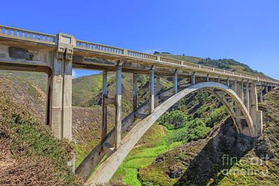 Photograph - Bixby Bridge Big Sur by Benny Marty