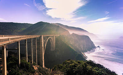 Photograph - Bixby Creek Bridge,big Sur by Jingjits Photography