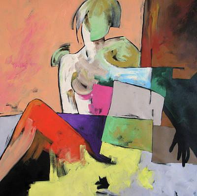 Painting - Black Glove by Linda Monfort