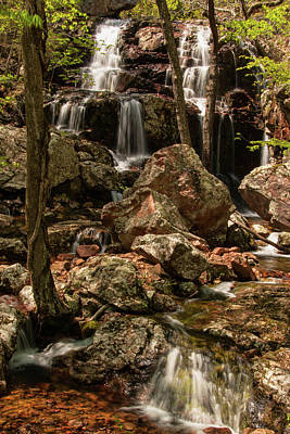 Photograph - Black Mountain Falls by Steve Stuller