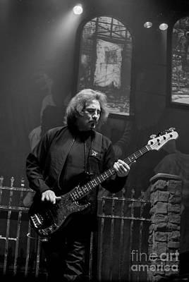 Photograph - Black Sabbath Geezer Butler by Jenny Potter