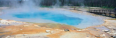 Black Sand Basin, Yellowstone National Art Print by Panoramic Images