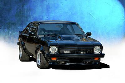Photograph - Black Torana Ss Hatchback by Stuart Row