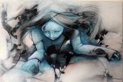 Cyanide Painting - Blackbough by Barbara Agreste