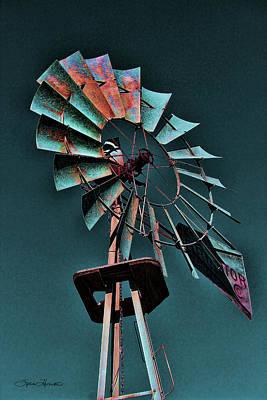 Photograph - Blades by Sylvia Thornton