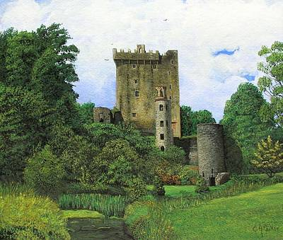 Blarney Castle Painting - Blarney Castle  by Charolette A Coulter