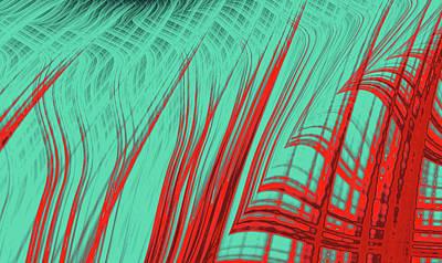 Digital Art - Blaze by Bill Owen