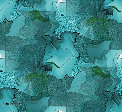 Digital Art - Mix by Iris Gelbart