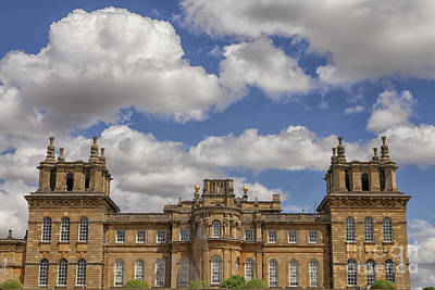 Photograph - Blenheim Palace In The Uk by Patricia Hofmeester