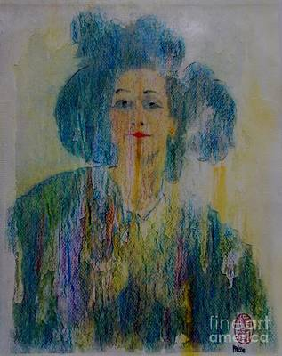Painting - Bleu Femme Fatal by Roberto Prusso