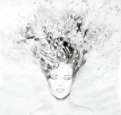 Serenity Mixed Media - Bliss by Jacky Gerritsen