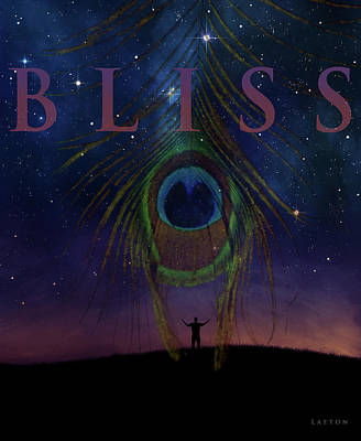 Digital Art - Bliss by Richard Laeton