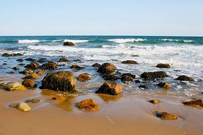 Photograph - Block Island Beach by Polly Castor