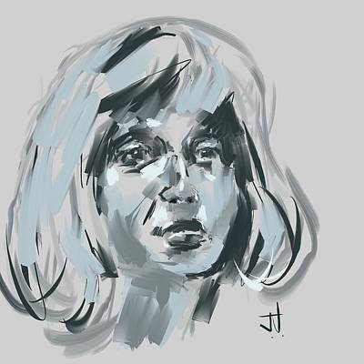 Digital Art - Blond by Jim Vance