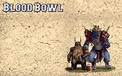 Blood Bowl Art Print