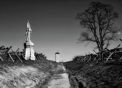 Photograph - Bloody Lane - Antietam by L O C