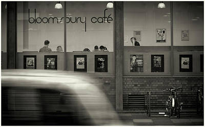 Photograph - Bloomsbury Cafe by Stewart Marsden