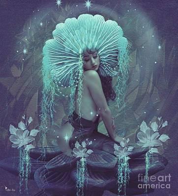 Digital Art - Blossom by Ali Oppy