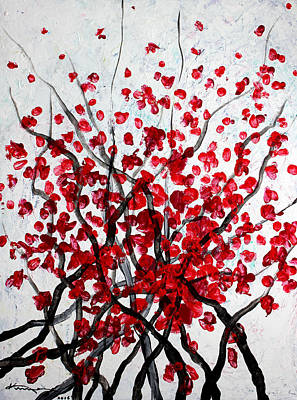 Painting - Blossoms by Kume Bryant