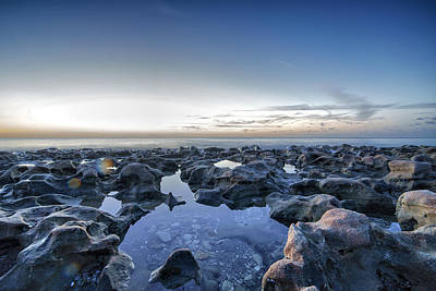 Photograph - Blowing Rocks Preserve by Mike Sperduto