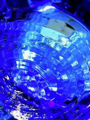 Photograph - Blue Abstract by Stephanie Moore