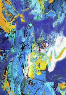 Painting - Blue Bayou by Jane Biven