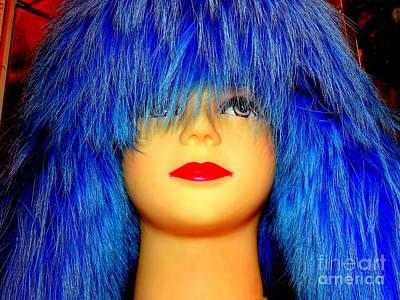 Photograph - Blue Beauty by Ed Weidman