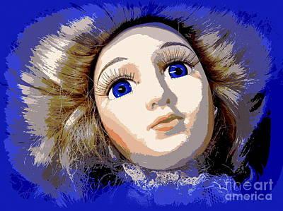 Photograph - Blue Eyed Belle by Ed Weidman