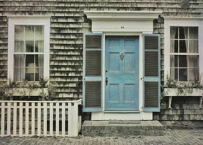 Photograph - Blue Door by JAMART Photography