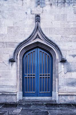 Blue Door Art Print by Joana Kruse