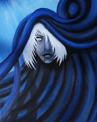 Blue Art Print by Edwin Alverio