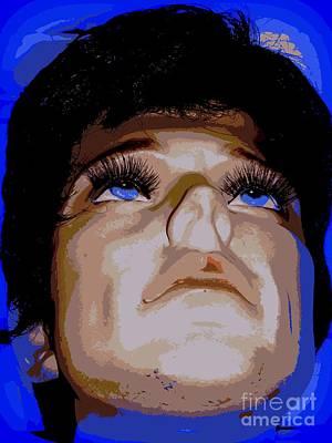 Digital Art - Blue Eyes Blue Sky by Ed Weidman