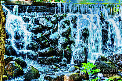 Photograph - Blue Falls by Rick Bragan