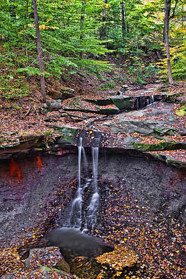 Amish Photograph - Blue Hen Falls by Marcia Colelli
