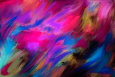 Mixed Media - Blue  Horizon  by Don Wright