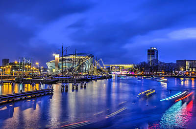 Photograph - Nemo In The Blue Hour by Frans Blok