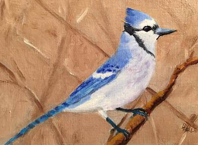 Bluejay Painting - Blue Jay by Linda Hiller