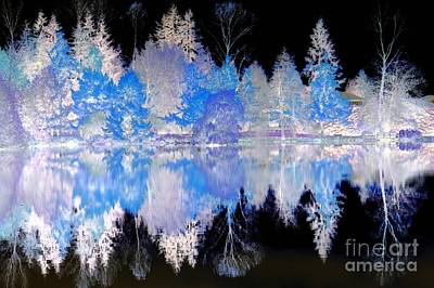 Photograph - Blue Lake by Frank Townsley