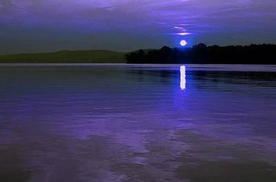 Photograph - Blue Moon by Carolyn Jacob