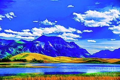 Photograph - Blue Mountain by Rick Bragan